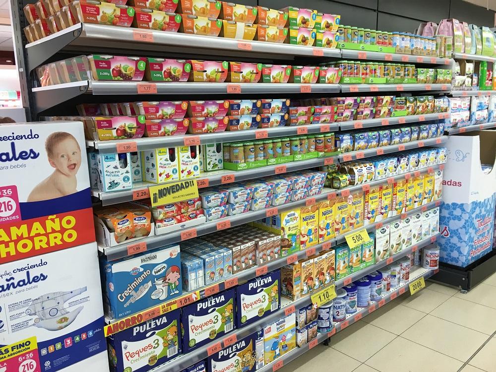 Babies Nappies Food Milk In Lanzarote Canary Islands
