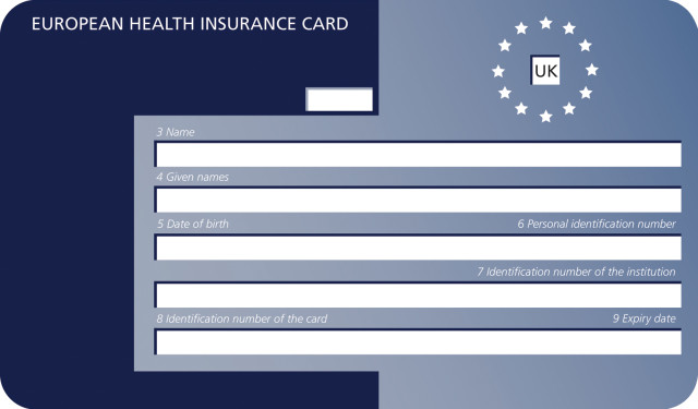 European Health Cards