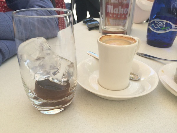 Cafe con hielo coffee