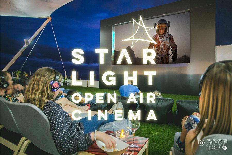 Starlight open-air cinema
