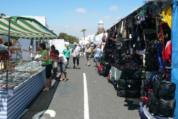 Teguise Market souvenirs