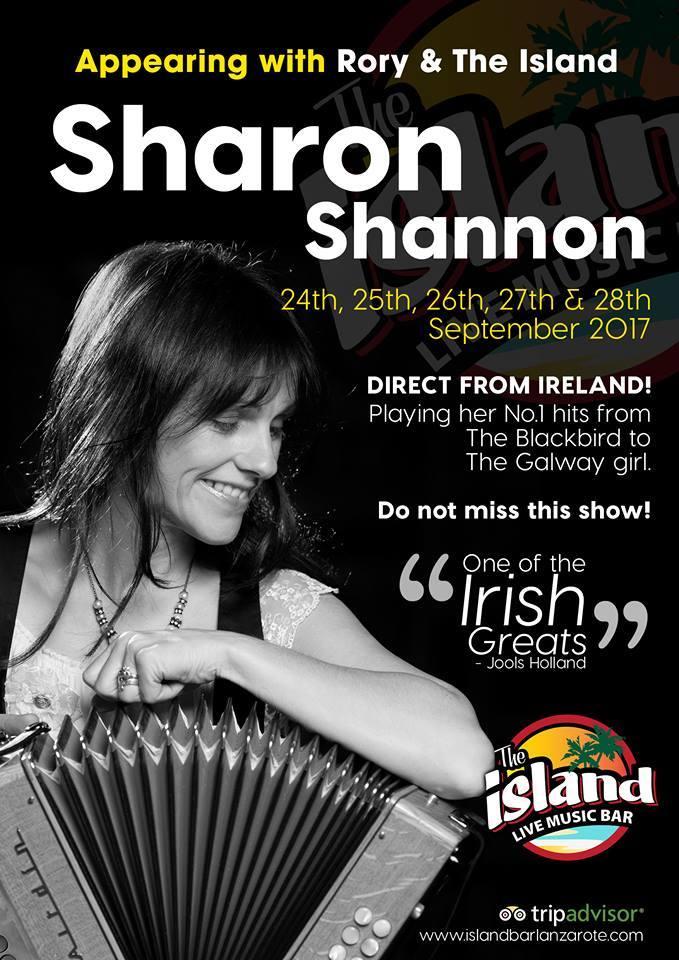 Sharon Shannon Lanzarote 2017