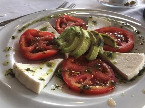 Nicos tricolor salad
