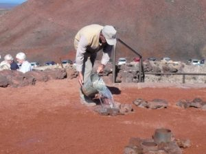 Water Demonstration Timanfaya