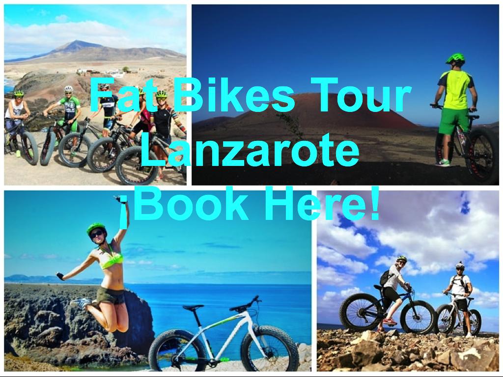 Fat Bikes Tour Lanzarote