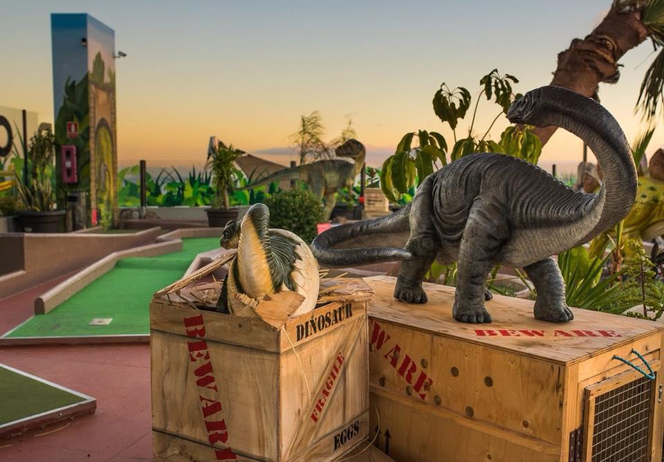 Jurassic Kingdom Crazy Mini Golf Adventure Lanzarote