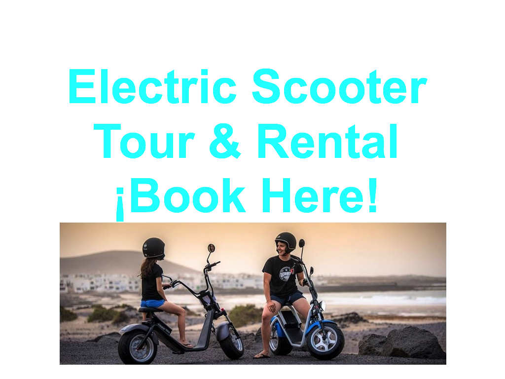 Electric Scooter Lanzarote