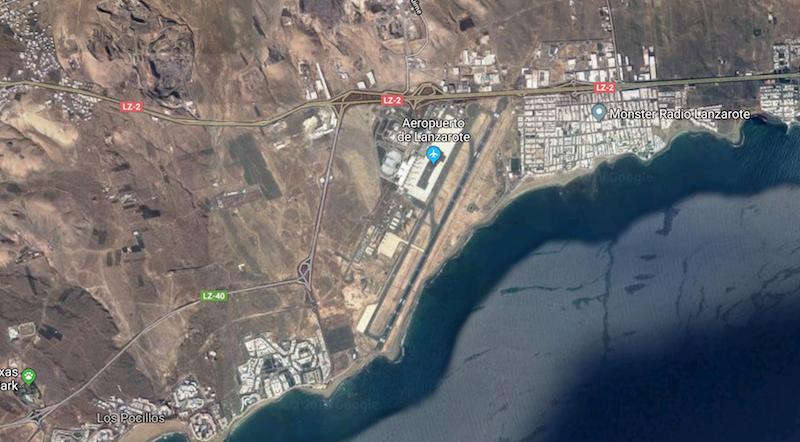 Lanzarote Airport runway