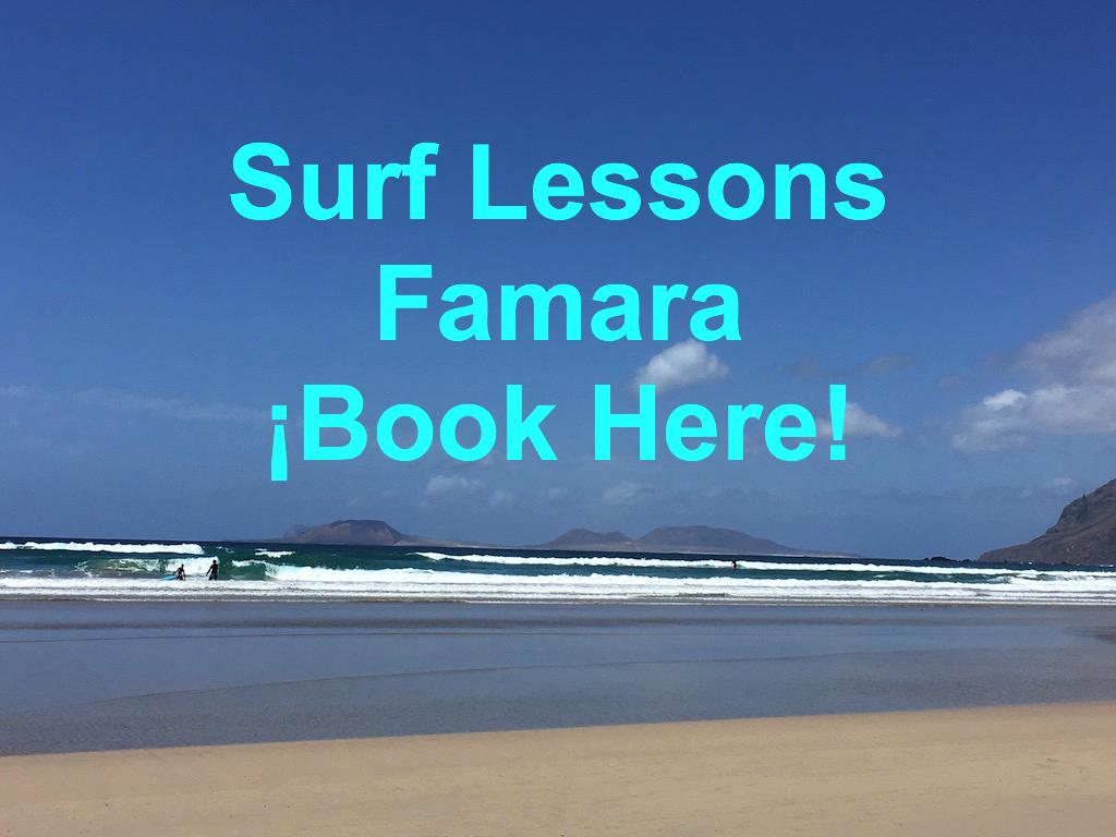 Surf Lesson Famara Lanzarote