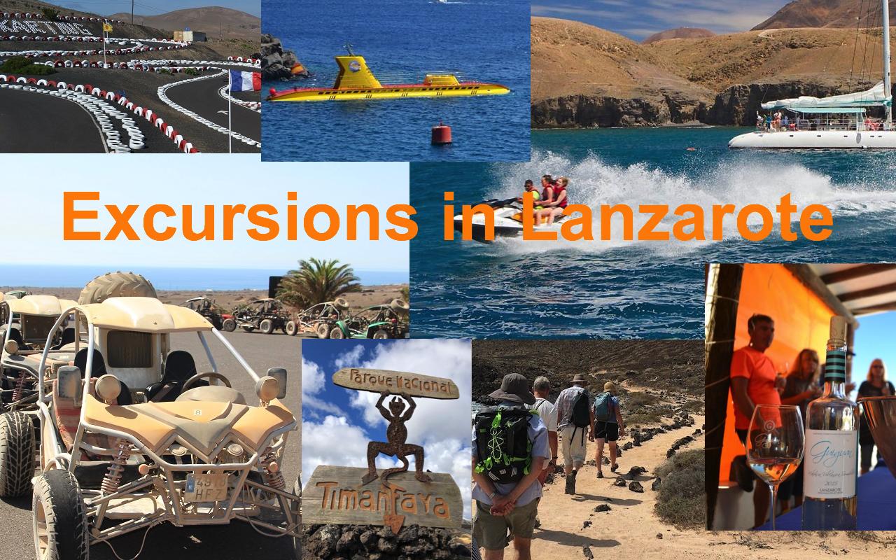 Excursions List
