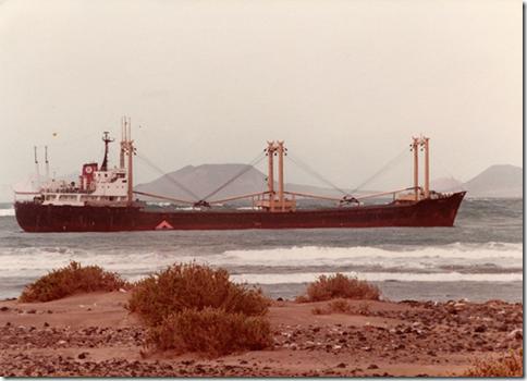 Famara shipwreck