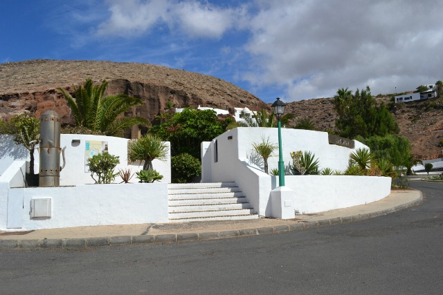 LagOmar attraction in Lanzarote