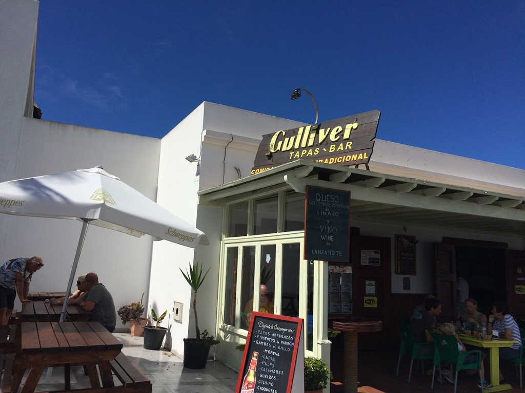 Lanzarote Restaurant Review, Gulliver Cerveceria