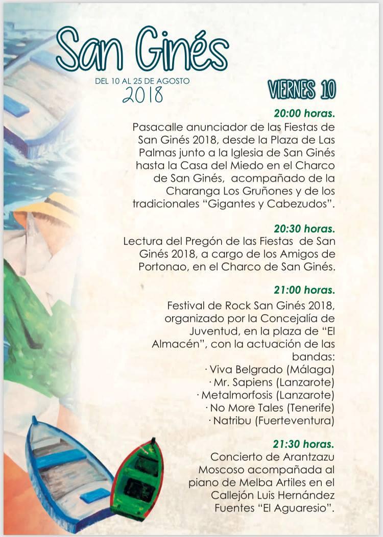 Fiesta San Ginés