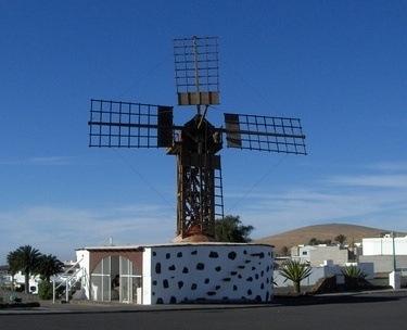 Lanzarote Windmills