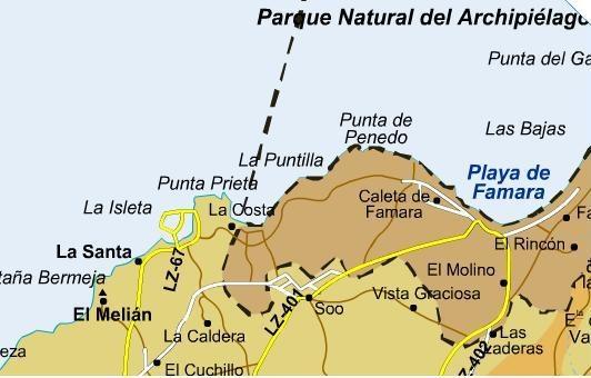 Club La Santa Lanzarote Map La Santa, Lanzarote   Lanzarote Information