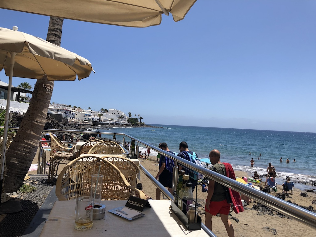 Lanzarote Restaurant Review Terraza Playa Puerto Del