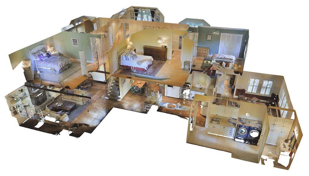 3D virtual property tours