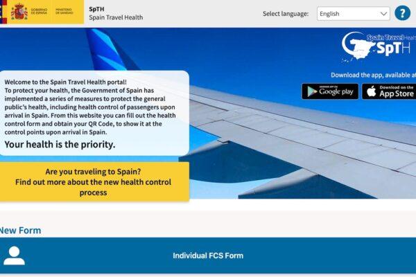 FCS Health Control Form
