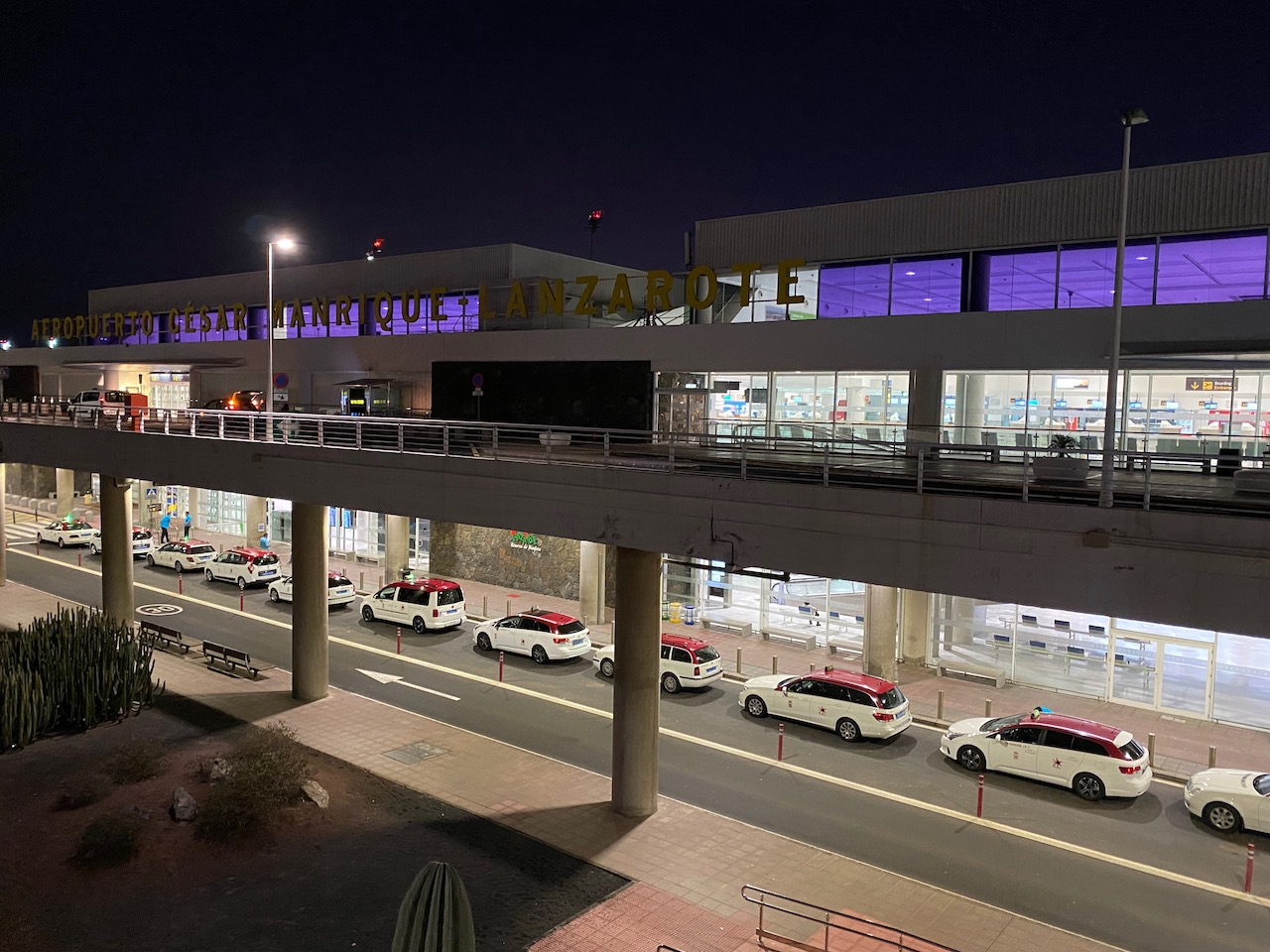 Taxis at Lanzarote Airport